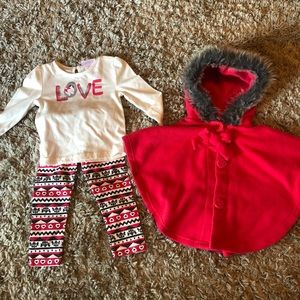 Little Lass outfit with poncho